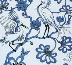 #yearofpattern florence broadhurst, the egrets