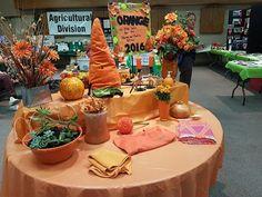 The vibrant orange table, celebrating the theme colour of 2016's 3H show. Orange Table, Vibrant, Table Decorations, Colour, Furniture, Home Decor, Color, Decoration Home, Room Decor