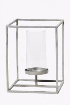 Chrome Candle Holder - French Connection £12