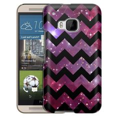 HTC One M9 Chevron Nebula Black Slim Case