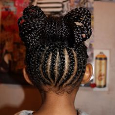So cute. Natural hairstyles for little girls