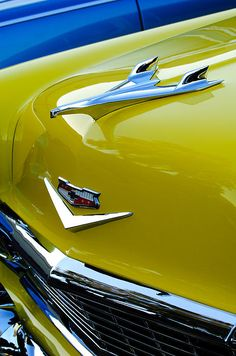 1956 Chevrolet Hood Ornament 3 Photograph by Jill Reger - 1956 Chevrolet Hood Ornament 3 Fine Art Prints and Posters for Sale