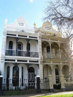 Beautiful Heritage Terrace homes. South Melbourne. #Australia