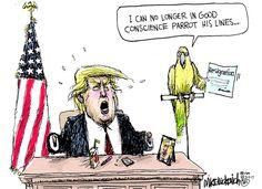 Mike Luckovich By For Feb 2 2017 Political SatirePolitical CartoonsFun