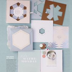 Holy Matri-Monday! Edyta and Jared's wedding is in the Spring 2015 issue of Martha Stewart Weddings. One of our proudest wedding stationery moments to date. @martha_weddings @edytaphoto