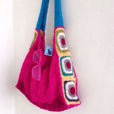 Crochet bag. Bohemian style