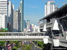 Skywalk Fussgängerbrücke Bangkok, Willis Tower, Marina Bay Sands, Thailand, Train, City, Building, Travel, Construction