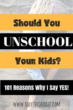 Why should you unschool? There are so many reasons to unschool! Unschooling is a way of life that homeschooling families can enjoy together. Life Learning, Learning Activities, Learning Tools, Education System, Kids Education, Education Center, Montessori, How To Start Homeschooling, Online Homeschooling