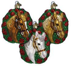 Old World Christmas Ornaments Horses