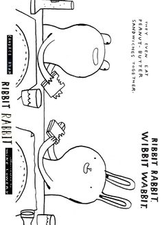 Candace ryan's ribbit rabbit coloring sheet 2 candace ryan O'Neal Motocross Gear O'Neal Boots Shakeel O'Neal