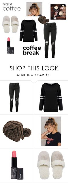 """Coffee Break"" by belle2023 on Polyvore featuring AMIRI, NA-KD and Natori"