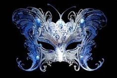 A stunning Venetian butterfly half-mask made of intricate metal and Austrian crystals