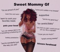 """Sweet Mommy Gf learn to cook your """"you're m favorites meals pats your head pa lowkey possessive I """"what's wrong sweety' - iFunny :) Just The Way, Love You So Much, You're My Favorite, Favorite Recipes, Type Of Girlfriend, Gf Memes, Cute Love Memes, Daddy Aesthetic, Types Of People"""