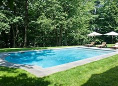 Beautiful Pool at a Private Country Estate in Greenwich, Connecticut
