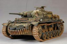 Diorama panzer 4