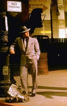 """Marlon Brando - """"Guys and Dolls"""" - Costume designer : Irene Sharaff Golden Age Of Hollywood, Classic Hollywood, Marlon Brando The Godfather, Dolls Film, Male Movie Stars, Jean Simmons, Guys And Dolls, Doll Costume, American Actors"""