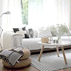 #inspiratie #wonen #interieur #style #homedeco #woonkamer #scandinavisch #mooi
