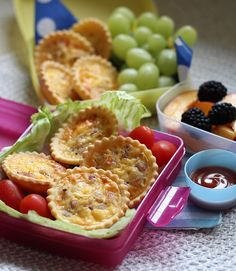 Lunch boxes are sure to come back empty when you fill them with Babyology's easy to make mini quiches. Delicious!