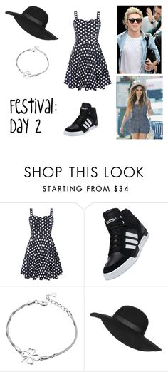 """25.1"" by ronniebenett ❤ liked on Polyvore featuring Izabel London, adidas and Topshop"