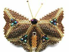 Парад бабочек.   biser.info - всё о бисере и бисерном творчестве