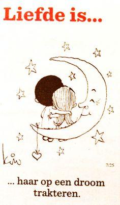 Liefde is... Haar op een droom trakteren