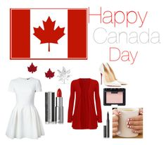 """""""Happy Canada day !!!!!!!!!!!!!!!!!!!! ( outfit 79 )"""" by kalexandrea123 ❤ liked on Polyvore"""