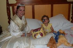 Pirate and princess tuck-in service at the Ritz-Carlton - Florida