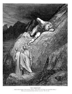 The Minotaur - Gustave Dore