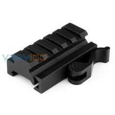 "VERY100 5-Slot QD Quick Detach Picatinny/W Compact Lever Lock Adaptor Riser Rail 0.59"" 21mm"