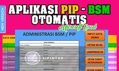 Aplikasi PIP BSM Excel Otomatis 2016