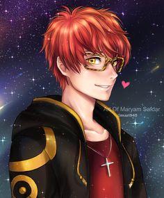 Mystic Messenger - Seven by Mari945 on DeviantArt