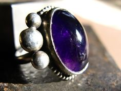 Dark Amethyst Ring