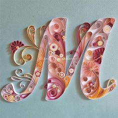 (no title) Paper quilling + typography,Paper quilling + examples of creative paper typography art by Anna Chiara Valentini (notitle) Quilling + typography, Quilling + typography, 40 + examples of creative paper typography art by Paper Quilling For Beginners, Paper Quilling Tutorial, Paper Quilling Patterns, Quilled Paper Art, Quilling Letters, Quilling Paper Craft, Paper Crafts, Quiling Paper, Alphabet Wallpaper