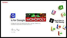 G is for Google Monopoly