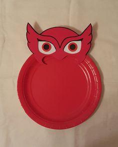 PJ máscaras placas por LilShopofJoy en Etsy