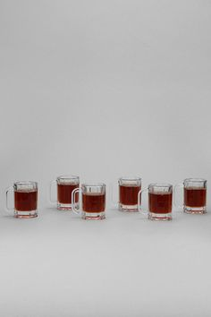 Beer Stein Shot Glass - Set Of 6  #UrbanOutfitters