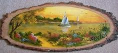 İlgili resim – Hobbies paining body for kids and adult Pour Painting, Painting On Wood, Kitsch, Decoupage, Scenery Paintings, Wood Burning Patterns, Hobbies And Interests, Tree Bark, Wood Slab