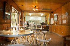 Dining room @ Shaffer Farms Texas Bar-B-Q by Dave Reasons, via Flickr