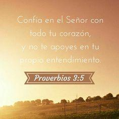 Proverbios 3:5