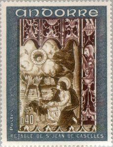 Fresco from the 'Book of Revelation of St. John'