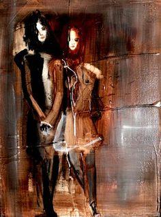 """Saatchi Art Artist Christina Marie; Painting, """"Mine"""" #art"""