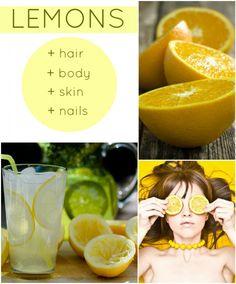 Beauty benefits of lemon juice - If life gives you lemons… keep them! #lemon #healthy #haircare #skincare #beauty