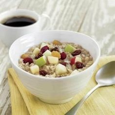 Copycat McDonald's Fruit and Maple Oatmeal replace brown sugar with 2 teaspoons  of maple syrup.