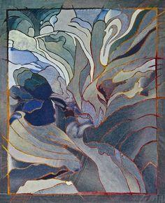 Denim Flow. Hollis Chatelain - Textile Artist