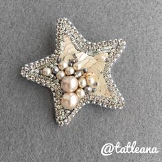Купить Брошь «Звезда» - звезда, брошь, подарок, брошь ручной работы, звездочка