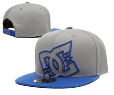 DC Snapback Hats Gray Blue|only US$20.00 - follow me to pick up couopons.
