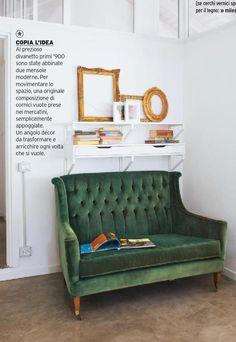 Cucina-soggiorno: un grande ambiente unico   Casa   Pinterest ...