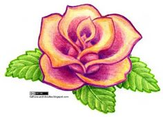 Tattoos and doodles: Simple rose