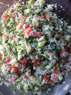 Low Fat, Low Cal, Grain Free, Delicious Tabouli