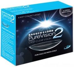 Flat 30% On Bausch & Lomb Purevision2 - Hd Monthly Contact Lens
